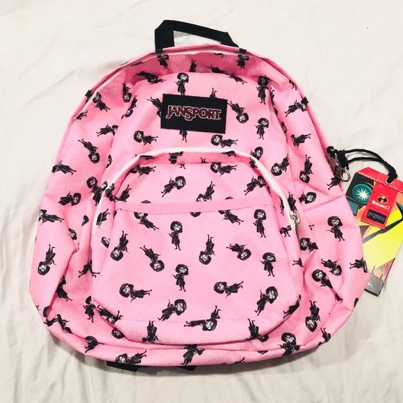 469df716ec9 DISNEY Incredibles Edna Mode Backpack Jansport